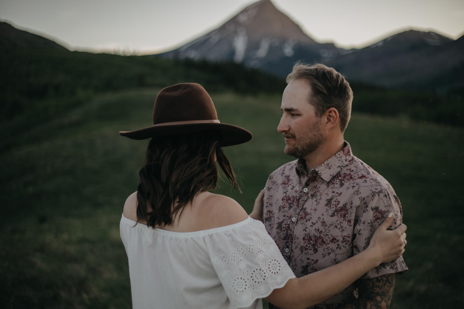 Alberta Mountain Engagement
