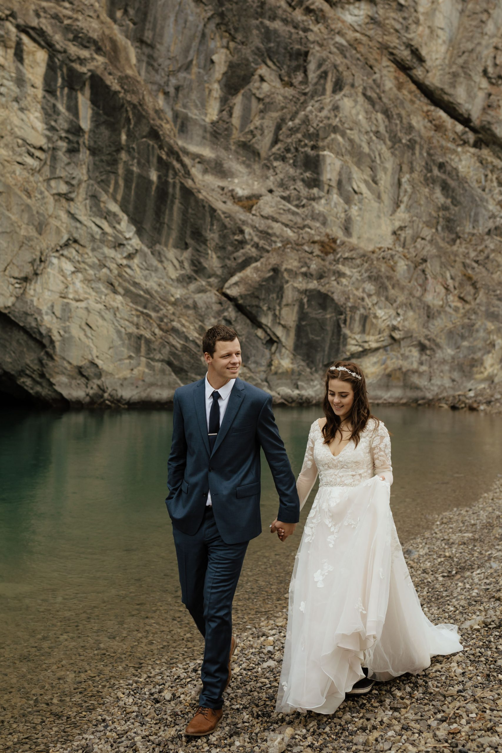 Canmore Wedding at Stewart Creek Golf Course